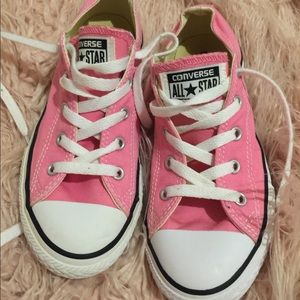 Pink All star Chuck Taylor's girls size 3